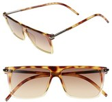 Marc Jacobs Women's 55Mm Sunglasses - Crystal