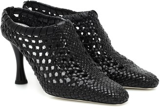 Proenza Schouler Woven leather ankle boots