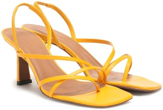 Neous Exclusive to Mytheresa a Esmeralda leather sandals