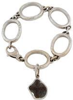 Loree Rodkin 18K Link Diamond Charm Bracelet