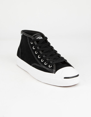 Converse Jack Purcell Mid Mens Black & White Shoes