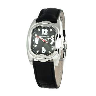 Chronotech Womens Analogue Quartz Watch with Leather Strap CT7274L-05N