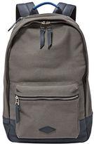 Fossil Estate Leather-Trimmed Backpack