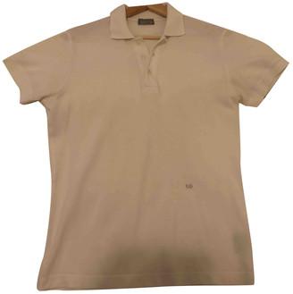 Christian Dior White Cotton Polo shirts