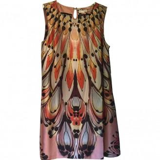 Hoss Intropia Pink Silk Dress for Women