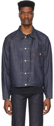 Levi's Clothing Indigo Denim 1936 Type 1 Jacket