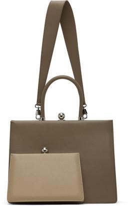 Ratio et Motus Taupe Twin Frame Bag