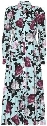 Erdem Josianne floral cotton-poplin dress