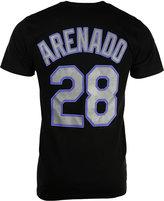 Majestic Men's Short-Sleeve Nolan Arenado Colorado Rockies Player T-Shirt