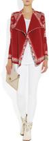 Etro Draped wool-blend cardigan