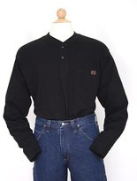Wrangler RIGGS WORKWEAR Men's Big & Tall Long Sleeve Henley