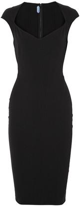 Thierry Mugler Paneled Stretch-twill Dress