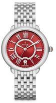 Michele Serein 16 Diamond & Stainless Steel Bracelet Watch