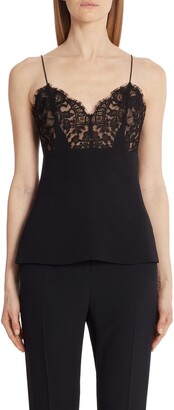 Alexander McQueen Lace Inset Camisole