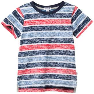 Flapdoodles Short Sleeve Stripe T-Shirt (Toddler Boys)