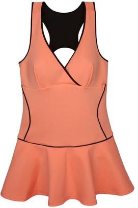 Pink Label Sedum Cutout Swimdress