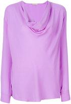 Emilio Pucci cowl-neck blouse - women - Silk - 42