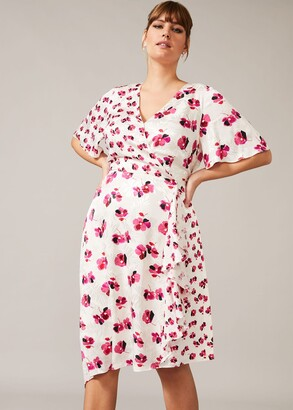 Phase Eight Margot Printed Jacquard Dress