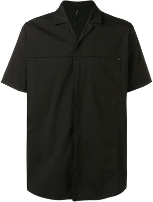Transit notched collar shirt