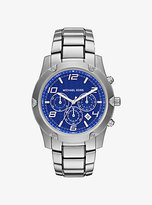 Michael Kors Caine Silver-Tone Watch