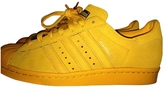 adidas Gold Suede Trainers Superstar