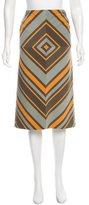Gianfranco Ferre Printed Knee-Length Skirt