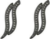 Rebecca Minkoff Swirl Post Earrings