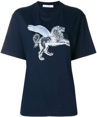 Golden Goose strass lion print T-shirt