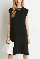 Forever 21 FOREVER 21+ Side Slit Shift Dress