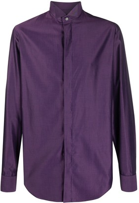 Gianfranco Ferré Pre Owned 1990s Concealed Fastening Shirt