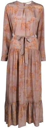 Mes Demoiselles Tie-Dye Shift Dress