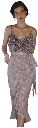 Sabina Musayev Isabella Top (Floral Light Peach) Women's Clothing
