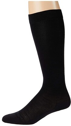 Darn Tough Vermont Solid Basic Knee High Lightweight (Black) Women's Crew Cut Socks Shoes