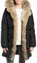 Pajar Women's Nikita Genuine Fur Trim Down Coat
