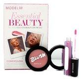 Model CO Essential Beauty - Cosmopolitan (1x Blush Cheek Powder 1x Shine Ultra Lip Gloss) 2pcs