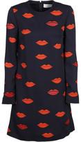 Victoria Beckham Scattered Lips Dress