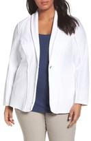 Nic+Zoe Plus Size Women's Stretch Denim Jacket