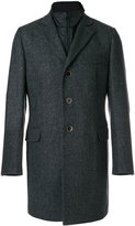 Fay single breasted coat - men - Polyamide/Polyester - S