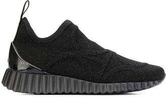 Salvatore Ferragamo Wave Sole Sneakers