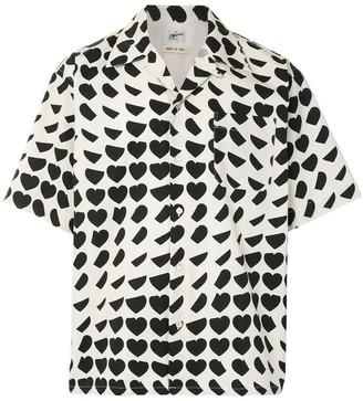Marni All-Over Heart Print Shirt