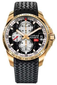 Chopard Mille Miglia GT XL Chronograph 18 k Rose Gold Men's Watch