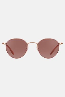 Garrett Leight Rose Gold-Peach/Semi Flat Bordeaux Wilson 49 Sunglasses