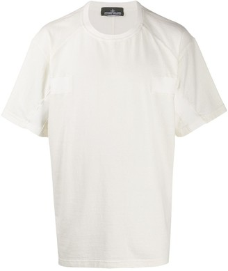 Stone Island Shadow Project tonal panelled T-shirt