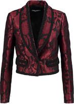 Dolce & Gabbana Appliquéd jacquard blazer