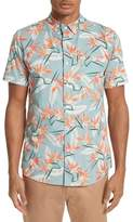 Saturdays NYC Men's Esquina Paradise Woven Shirt