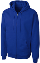 Clique Blue Fleece Zip-Up Hoodie - Unisex