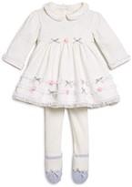 Little Me Infant Girls' Metallic Dot Dress & Tights Set - Sizes 3-9 Months