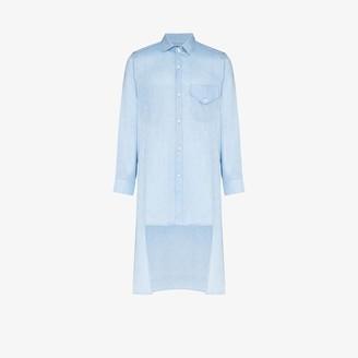 Tokyo James X Homecoming Liean long linen shirt
