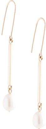 MEADOWLARK 9kt yellow gold Roma pearl drop earrings