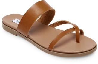 Steve Madden Women's Sandals COGNAC - Cognac Dario Leather Sandal - Women